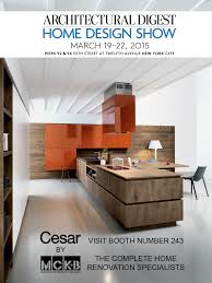 Architectural Digest Home Design Show In New York City Mckb Booth Number 243 At The Architectural Digest Home Design Show