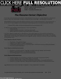 Career Objective In Resume For Mechanical Engineer Resume Samples Uva Career Center Objective Statement For