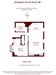 kensington square floor plan 2 bedroom kensington church street london w8 property for sale