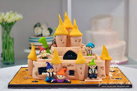 3d cake sugarpaste decorating labyrinth 迷宫 3d cake in penang