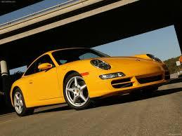 yellow porsche 2006 yellow porsche 911 coupe wallpapers