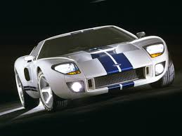 ford supercar concept ford gt90 concept blue u0026 white frontview 1280x960