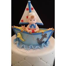 nautical birthday cake topper ahoy its a boy nautical baby