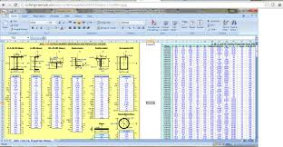 Engineering Excel Templates Civil Engineering Spreadsheets Civil Engineers Pk