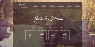 wedding site 20 html wedding website templates code geekz