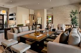 Brown Leather Living Room Decor Dining Room And Living Room Decorating Ideas Home Interior Design