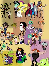 grim adventures of billy and mandy halloween background grim and evil poster by whitemageoftermina on deviantart