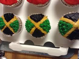 Flag Cakes Jamaican Flag Cupcakes Yummy Tummy Stuff Pinterest Flag Cake