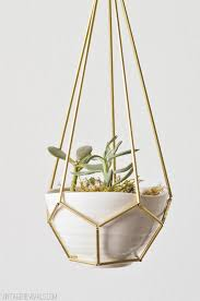 White Hanging Planter by 15 Gorgeous Diy Hanging Planter Ideas To Beautify Your Home