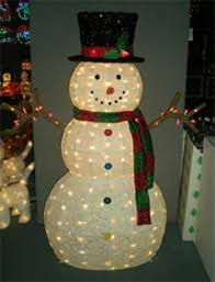 snowman lighted yard displays wikii