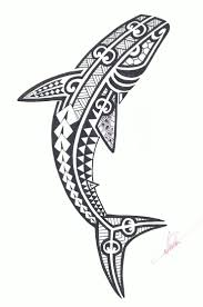 the 25 best tribal shark tattoos ideas on pinterest tribal