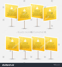 vector illustration board sign infographic design stock vector vector illustration of board sign infographic design element