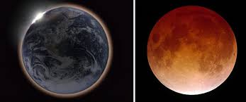 why a totally eclipsed moon looks science wire earthsky