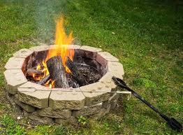 Backyard Campfire Backyard Fire Pit Ideas And Designs With Pictures