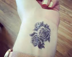 flower tattoo etsy