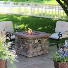 Pictures Of Fire Pits In A Backyard by Red Ember Sheridan 35 In Square Fire Pit Table With Free Cover