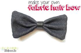how to make your own hair bows how to make a fabric hair bow