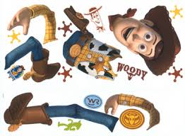 toy story woody giant wall stickers 1