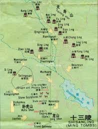 Beijing Map Ming Tombs Beijing Map Beijing Ming Dynasty Tombs Photos