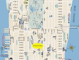 Map Of Park Avenue New York by Untitled Document