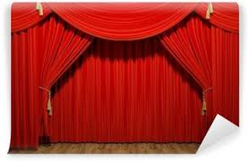 Movie Drapes Movie Theater Wall Murals U2022 Pixers
