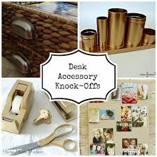 Diy Office Desk Accessories by Chic Desk Accessories Decorative Desk Decoration