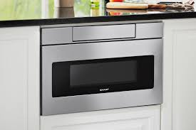 sharp updates its microwave drawer for universal design jlc