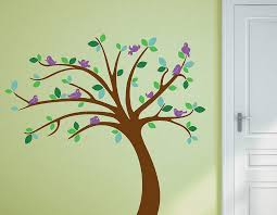 children s tree wall sticker set contemporary wall stickers