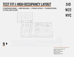 510w22 nyc floor plan test fit floor plans pinterest
