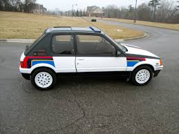 peugeot for sale canada 88 peugeot 205 gti 1 9 rally stripes 33k orig miles timecapsule