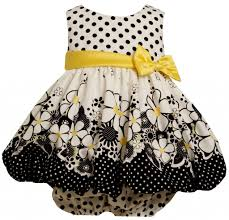 bonnie jean baby for special occasion flower dress on