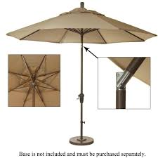 Aluminum Patio Umbrella by 9 Ft Aluminum Patio Umbrella Heather Beige Ultimate Patio