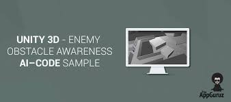 unity tutorial enemy ai unity 3d enemy obstacle awareness ai code sle