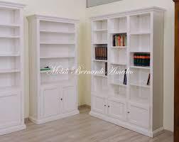librerie bianche libreria in legno librerie