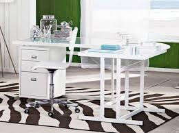 Office Desk Glass Top White Modern Office Desk For Home With Glass Top And File Cabinet