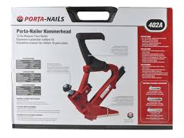porta nails 402a angled nailer with mallet in case