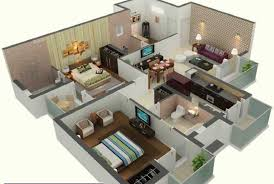 2 Bedroom Design Awesome Sq Ft House Plans Ideas With Attractive Small Design 2