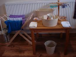 the learning ark elementary montessori washing tables