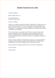 proposal letter sample business proposal templated business