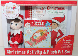 amazon com elf on the shelf christmas activity set with plush 10