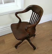 edwardian mahogany revolving office chair c 1900 antiques atlas