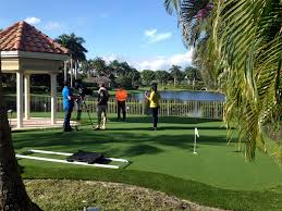 Building A Backyard Putting Green Synthetic Lawn Gold Camp Arizona How To Build A Putting Green