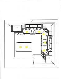 best counter kitchen kitchen lighting design layout recessed best images plan