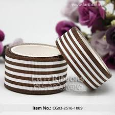 grosgrain ribbon belt brown and white striped grosgrain ribbon belt global sources