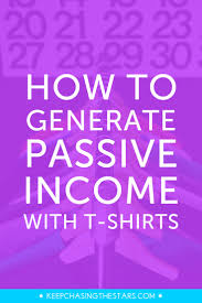 Spreadsheet T Shirts How To Generate Passive Income With T Shirts Keep Chasing The Stars