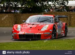 Nissan 350z Red - 2004 nissan 350z gt500 on the hillclimb at goodwood festival of