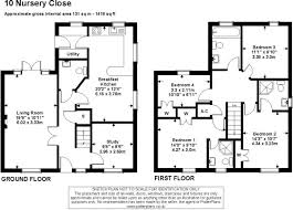 Nursery Floor Plans 4 Bedroom Semi Detached House For Sale In Nursery Close Moreton