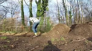 highgate dirt jumps build youtube