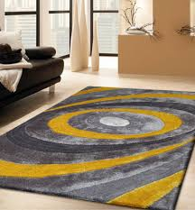 rugged inspiration modern rugs 8 10 rugs on yellow and gray area
