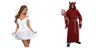 Devil Angel Halloween Costumes Couple U0027s Costumes Ideas Halloween 2012 Halloween Costumes Blog
